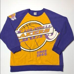 Hardwood Classics Los Angeles Lakers Pullover, XL